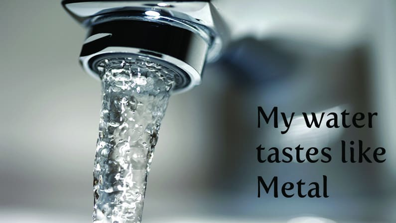 Water Tastes Like Metal? Here's Why and What You Can Do 2021 Guide