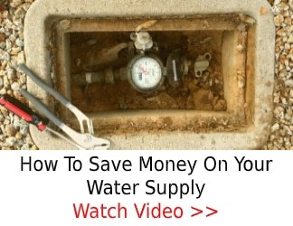 Save money on water supply