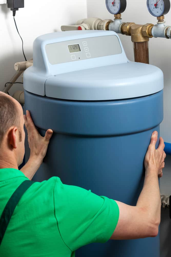How Much Water Does a Water Softener Use: Installation of a water softener