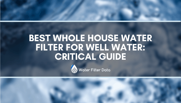 Best Whole House Water Filter For Well Water: UPDATED Critical Guide