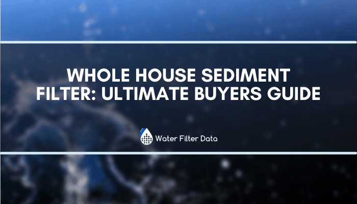 Whole House Sediment Filter: Ultimate Buyers Guide